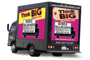 It Is A Cost Effective Means Of Getting Your Message Out To Consumers Mobile Billboards LLC Serves North Carolina
